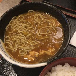 カレー南蛮(長盛庵 めん秀 (チョウシュウアン メンヒデ))
