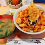 かき揚げ丼(小エビとイタヤ貝柱ミックス)