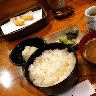 天ぷら定食(てんぷら みかわ 茅場町店 )