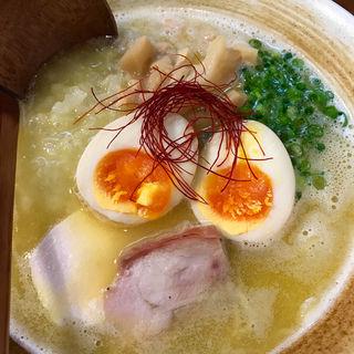 濃厚鶏白湯らーめん(麺匠ようすけ)