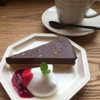 チョコレートタルト(Iwase-coffe)