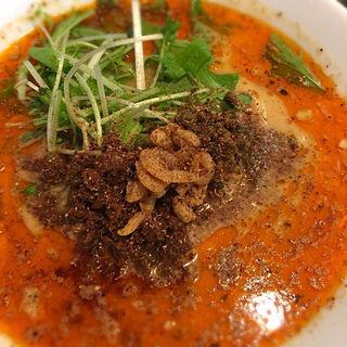 担担麺 3辛4辛