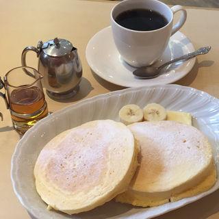 ホットケーキ&コーヒー