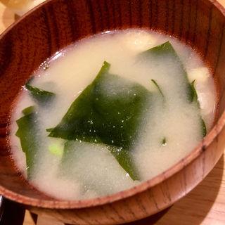 お味噌汁(千早清介 )