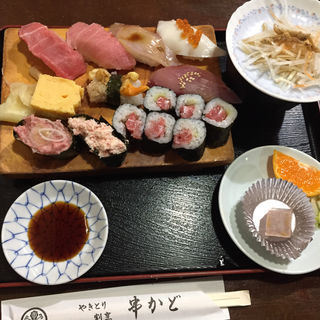 にぎり寿司セット(串かど)