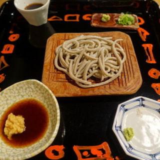 粗挽きの太切り蕎麦(打墨庵 加瀬 (うっつみあん))