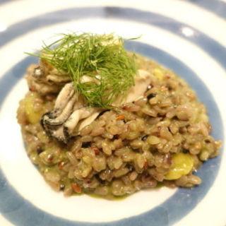 牡蠣と銀杏 五穀米リゾット ディル風味(キッチンステージ (kitchen stage))