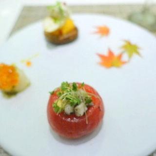 前菜の3種盛り(キッチンステージ (kitchen stage))