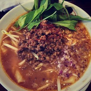(数量限定)肉味噌そば(NOODLE CAFE SAMURAI)