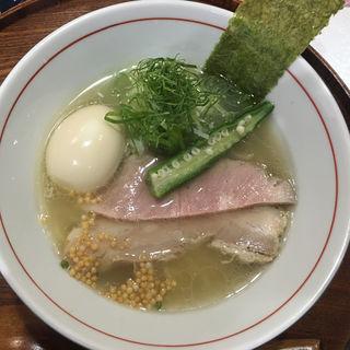 日より藻塩らぁー麺(らぁー麺 日より)
