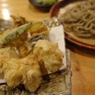 白子天ざる蕎麦(蕎房 猪口屋 (チョコヤ))
