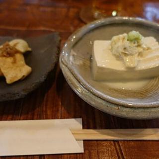お豆腐(手打ち蕎麦 じゆうさん )