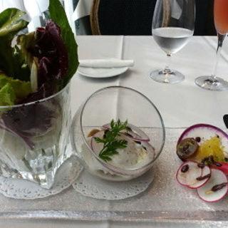 鎌倉秋野菜とキノコのマリネ(ア・タ・ゴール (A ta guele))