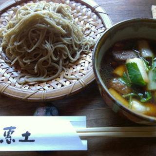 鴨せいろ(蕎麦恵土)