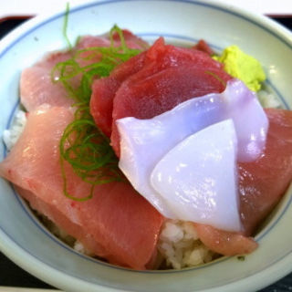 三色丼(魚市場食堂 )