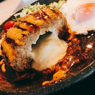 デミグラス味噌ハンバーグ(炙 (Aburi))