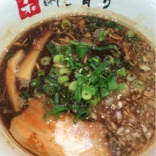 煮干ブラック(ハーフ)(清乃 近鉄百貨店和歌山店)