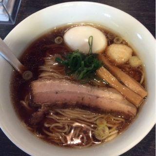 湘南湯麺~雅~味玉トッピング~(麺やBar 渦 (めんやばー うず))