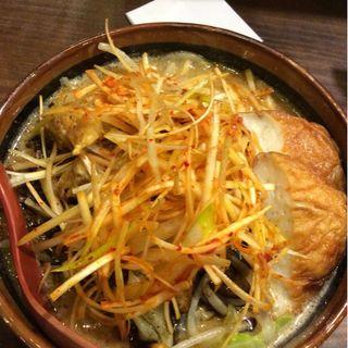 北海道味噌ラーメン(麺場唐崎商店 )