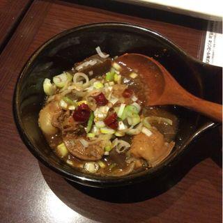 串6本とモツ煮のコース(鳥火)