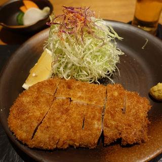 九州産黒豚ロースかつ(とんかつかっぽう かつぜん)