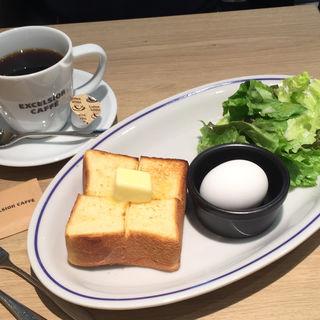モーニング トーストプレート(エクセルシオールカフェ 京急EXイン東銀座)