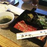 焼肉弁当(和牛)100g(長春館 (チヨウシユンカン))