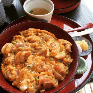 阿波尾鶏炙り親子丼(南ばら亭 )