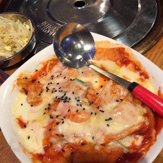 チーズトッポッキ(とんちゃん 四谷店 )