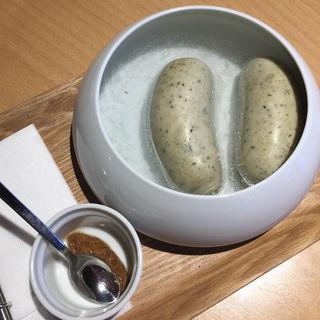 白ソーセジ(カフェ・ミュラー (Cafe Muller))