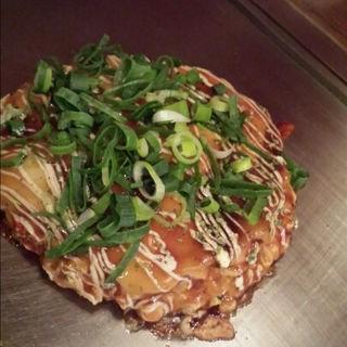 餅チーズのお好み焼き(88 (ぱちぱち))
