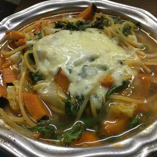 oven cheese soup pasta(BOXX Coffee & X-presso)