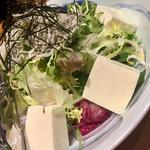 豆藤とうふとジャコのサラダ