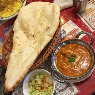 ランチBセット(マトンカレー)(タァバン (インド・ネパール料理 タァバン))