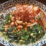 鶏ポ坦々麺
