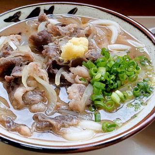 肉うどん(野口製麺 )
