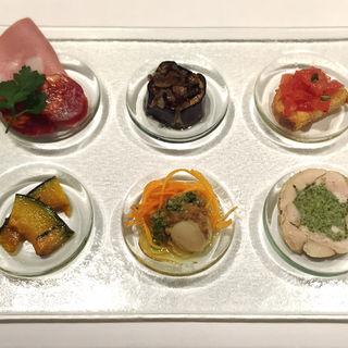 前菜6種(カンティーナ )