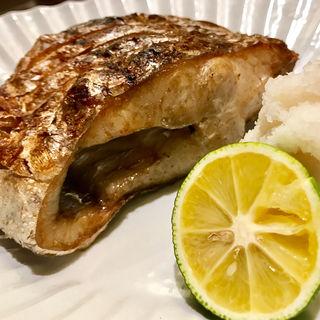 太刀魚の塩焼き(田中田)