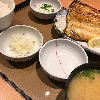 しまほっけ定食(やよい軒 立川北店 )