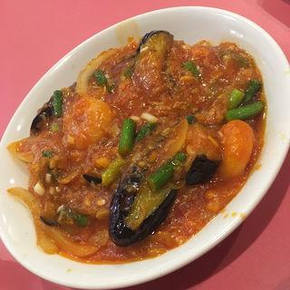 エビと茄子のチリソース煮(中国料理 五十番 (チュウゴクリョウリ・ゴジュウバン))