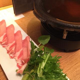 明太すき焼き(ごはん屋 椒房庵)