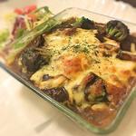 イタリア産ホエー豚とモッツァレラチーズの焼きカレー (ダパウロ (RotisserieBar Dapaulo))