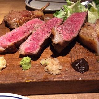 肉三種盛り(ザ・ミートショップ)