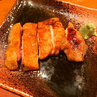 極上比内地鶏 もも肉一枚焼き(海舟 )