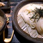 香味油の葱とゴマのつけ麺