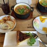 具沢山スープランチ(ファクトリーカフェ 梅田・茶屋町 (Factory Cafe))