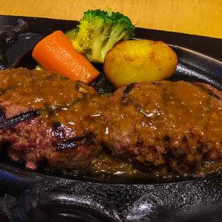 げんこつハンバーグ(炭焼きレストランさわやか 浜松高塚店)