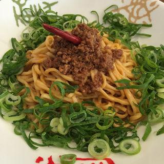 日式・汁なし担々麺セット(香家 三田店 (コウヤ))