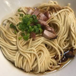 和え麺(煮干中華ソバ イチカワ)
