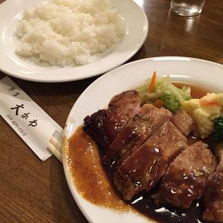 ポークソテー(洋食 大かわ (オオカワ))